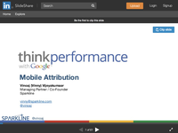 Mobile Attribution