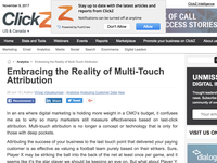Embracing the Reality of Multi-Touch Attribution