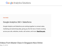 Videos From Master Class In Singapore Now Online