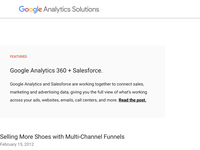 Selling More Shoes with Multi-Channel Funnels