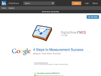4 Steps to Measurement Success - DigitalNow: FMCG