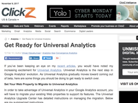 Get Ready for Universal Analytics