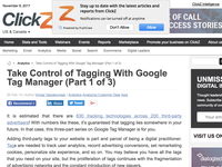 Take Control of Tagging With Google Tag Manager (Part 1 of 3)