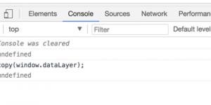 Google Chrome DevTools Console - copy JSON to clipboard